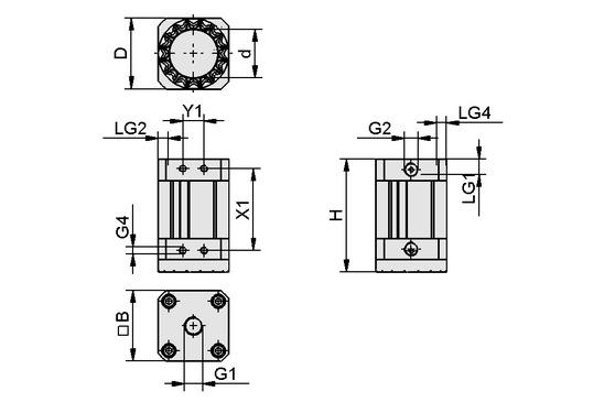 SGM-HD 40 G1/4-IG