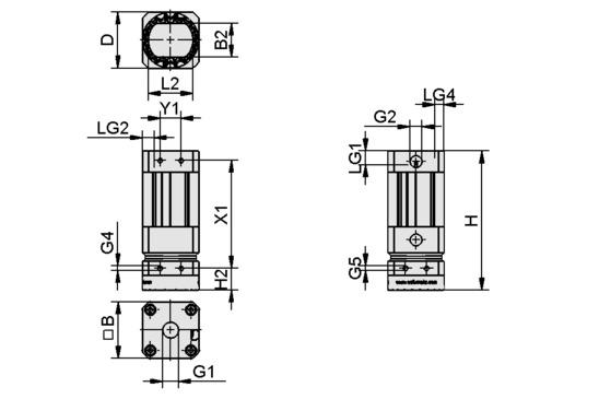 SGM-HP 40 G1/4-IG