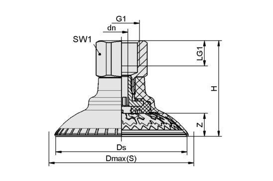 SAXM 50 ED-85 G3/8-IG