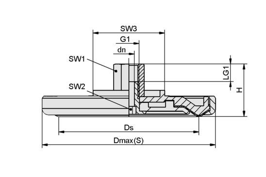 SPL-HT 140 ST G3/8-IG