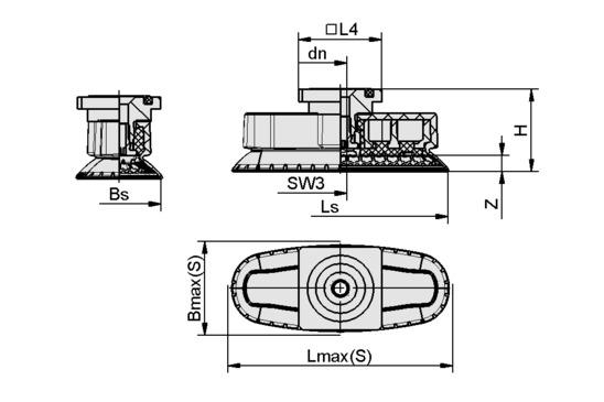 SAOXM 80x30 ED-85 RA