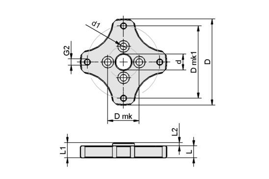 FLAN-PL 55x7.5-AB1