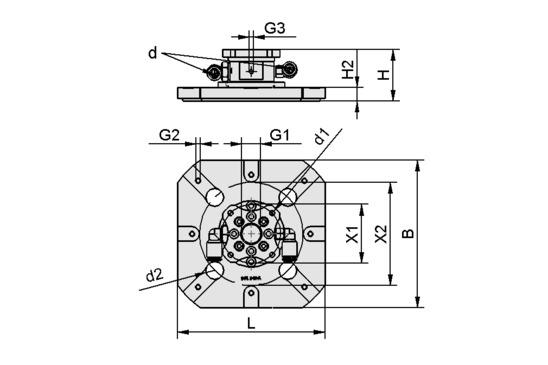SWGm-5A 115x115x40 1xE100 A PEEK