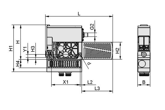 SXPi 25 NC Q 2xM12-5
