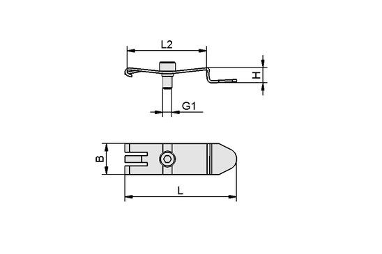 HUT-SN-KL 50x14x7 SCPMi/c/b