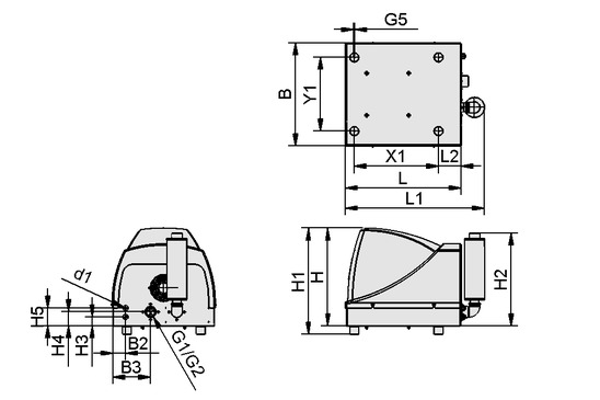 SBB-230V-AC-ST/ABS-LUE SB
