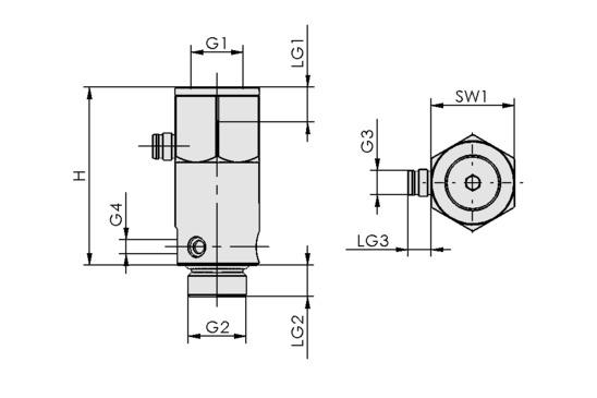 IV 3 3/2 G1/4-IG G3/8-AG 24V-DC