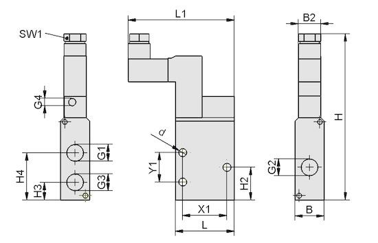 EMVP 5 24V-DC 3/2 NC