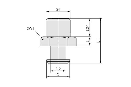 SVN G1/4-AG N015