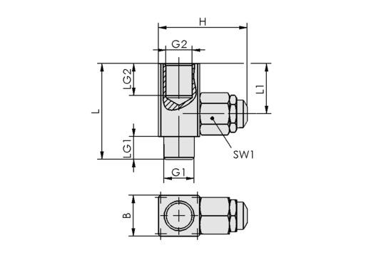 DBV-M G1/4-AG MS