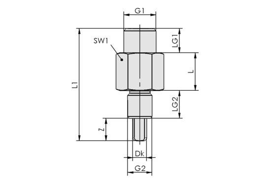 TVN G1/4-AG 9 N009