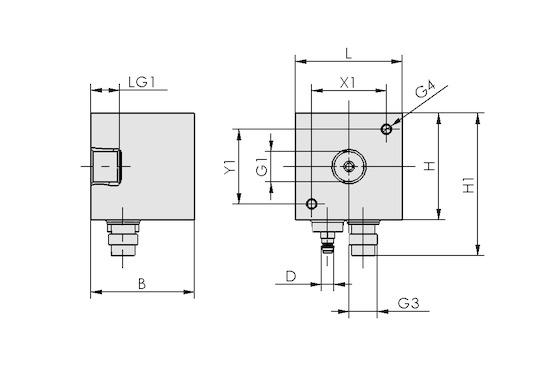 VS-P10-W-D PNP M8-4