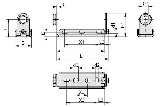 BEF-WIN 21x22x61.5 1.5 VSi-D-M12