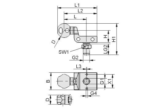 HT-SG A2 E 35 NPT1/4-AG