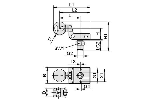 HT-SG A2 E 35 NPT3/8-AG