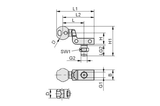 HT-SG A3 22 NPT1/4-AG
