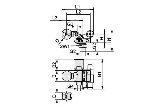 HT-SG A2 I 10 31 G3/8-AG AB