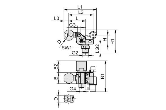 HT-SG A5 I 10 31 NPT3/8-AG AB