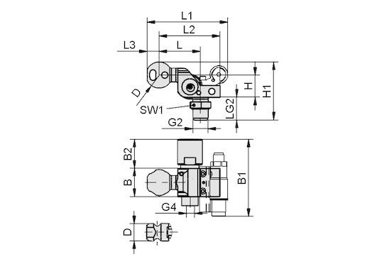 HT-SG A2 I 10 31 NPT3/8-AG AV
