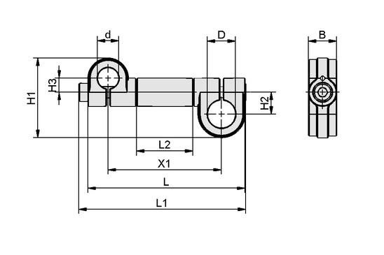 SXT-CL-EXT-D25-125-F25
