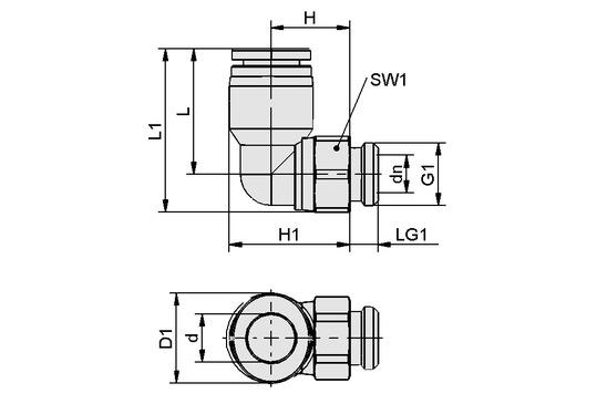 STV-W G1/8-AG 10