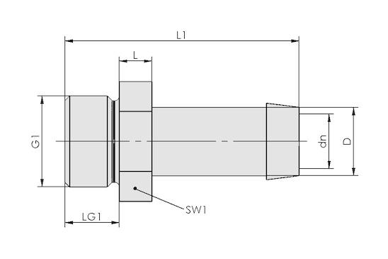 ST G3/4-AG 13 MS-V