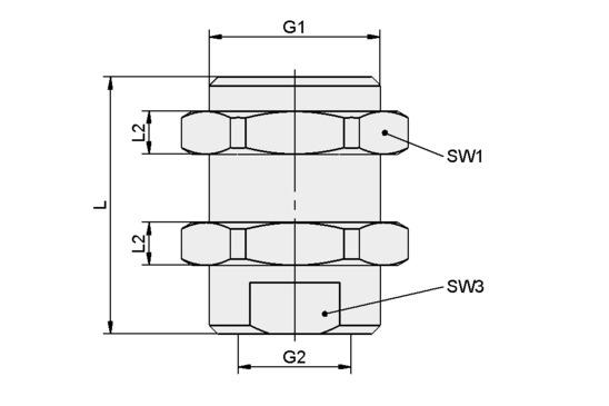 SVS-GE M10x1-AG M5-IG 20