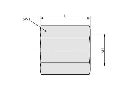 MUF-S G1/8-IG 18 SW14 MS-V