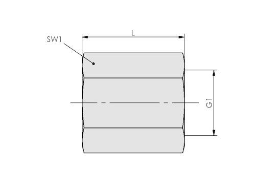 MUF-S G1/4-IG 26 SW17 MS-V