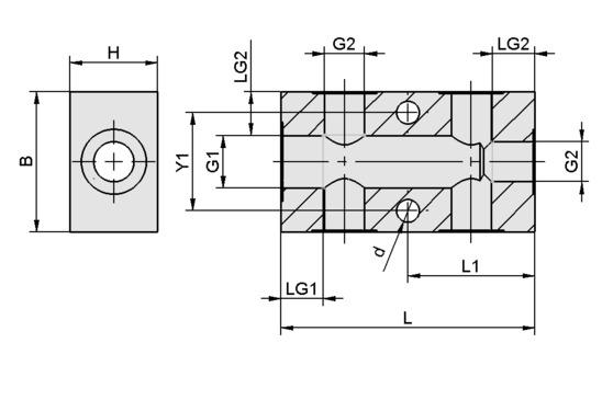 VTR G1/4-IG 5xG1/8