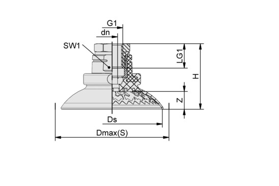 SAX 115 ED-85 G1/4-IG