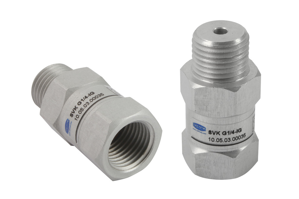 Check Valves SVK, SVKG, SVV