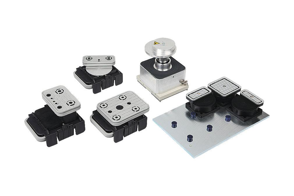 Sistemas de fijación para consolas Schmalz (1 circuito)