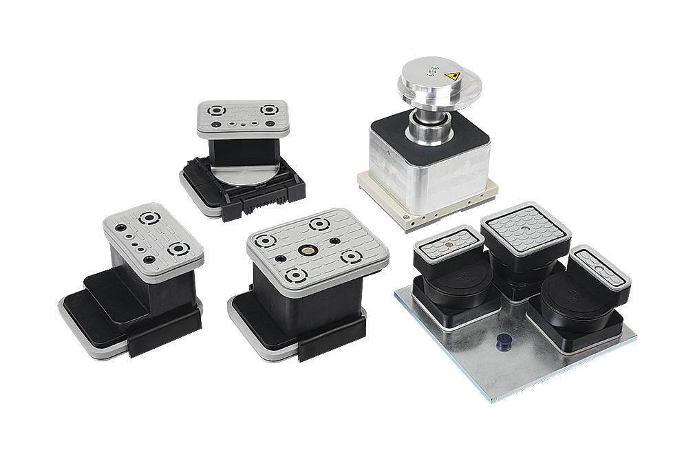 Sistemas de fijación para consolas Schmalz (2 circuitos)