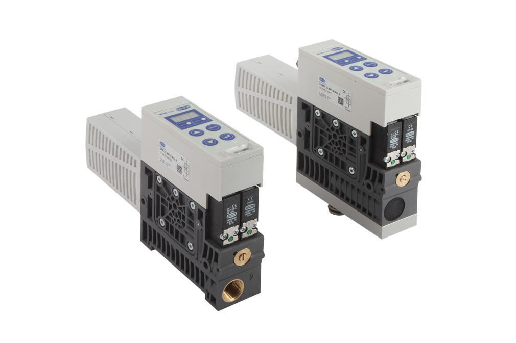 Eyectores compactos X-Pump SXPi / SXMPi con IO-Link