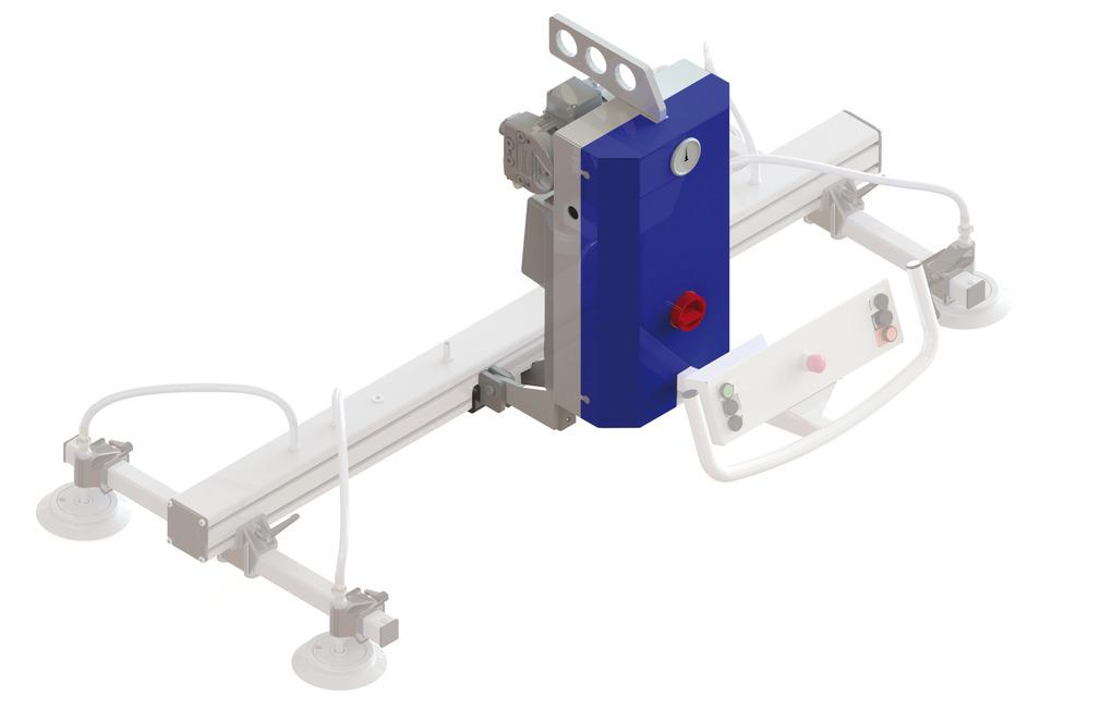VacuMaster Basic per girevole di 90°