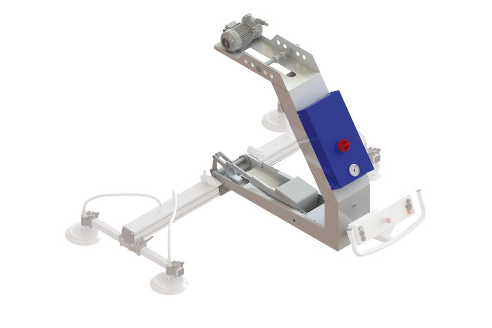 VacuMaster Comfort para volteo de 180°