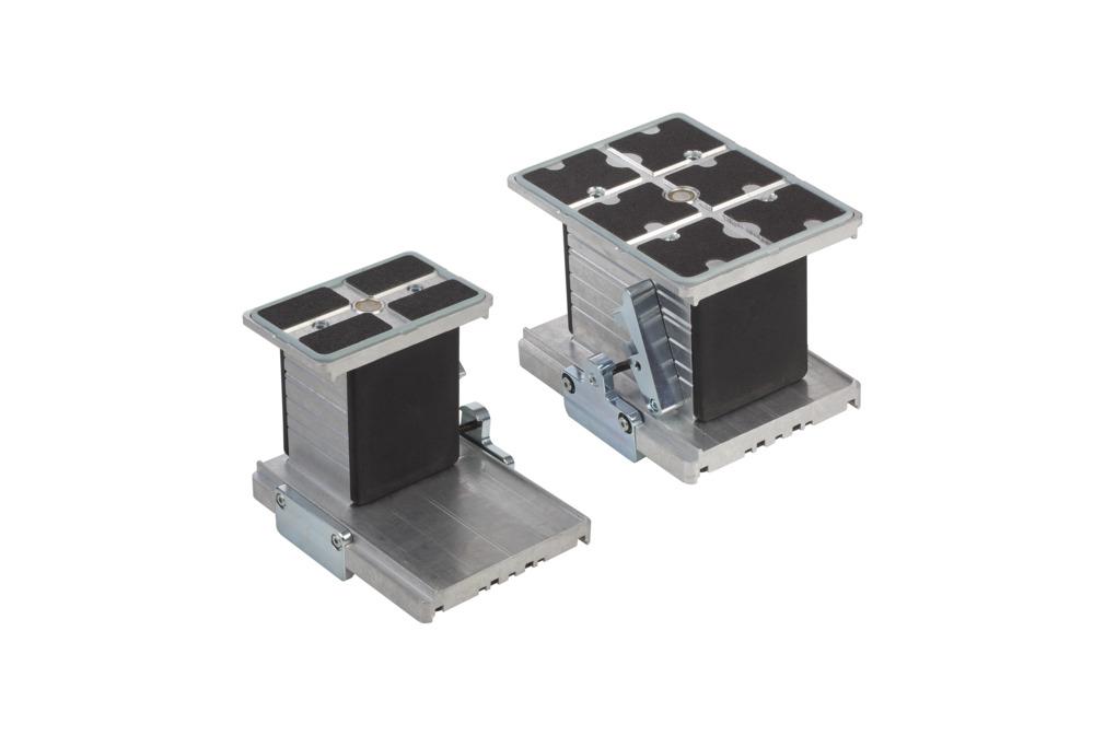 Blocs de bridage en aluminium VCBL-A-K1