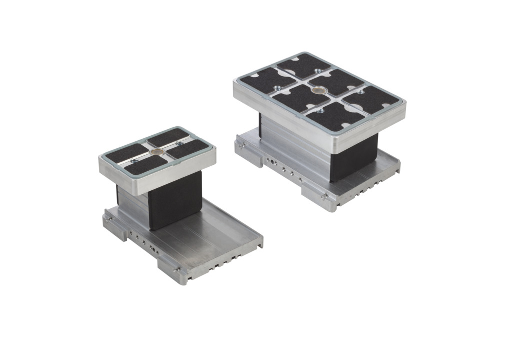 Blocs de bridage en aluminium VCBL-A-K2