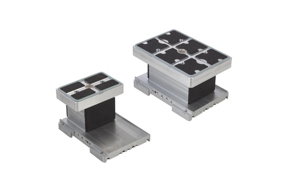 Aluminum Vacuum Blocks VCBL-A-K2