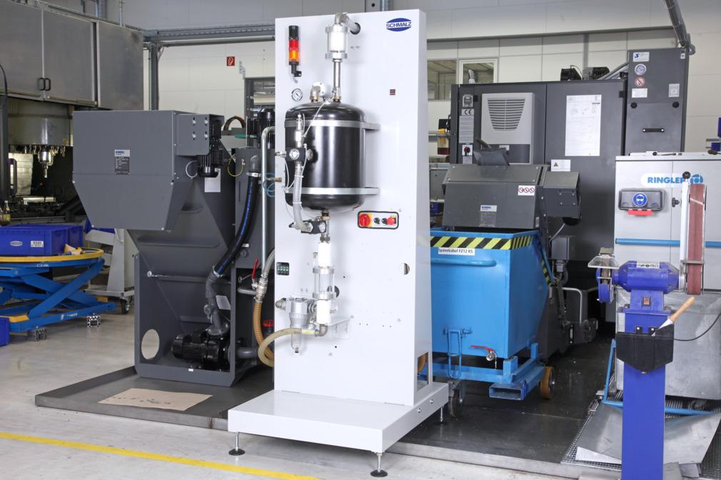 Génération du vide pour centres d'usinage CNC