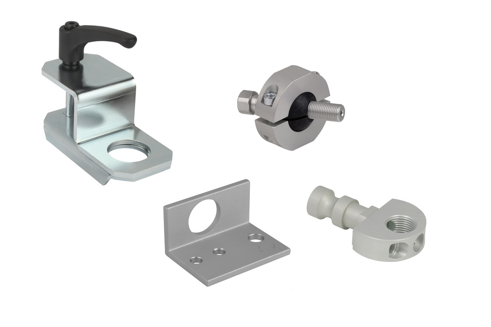 Holder for Suction Cups and Spring Plungers