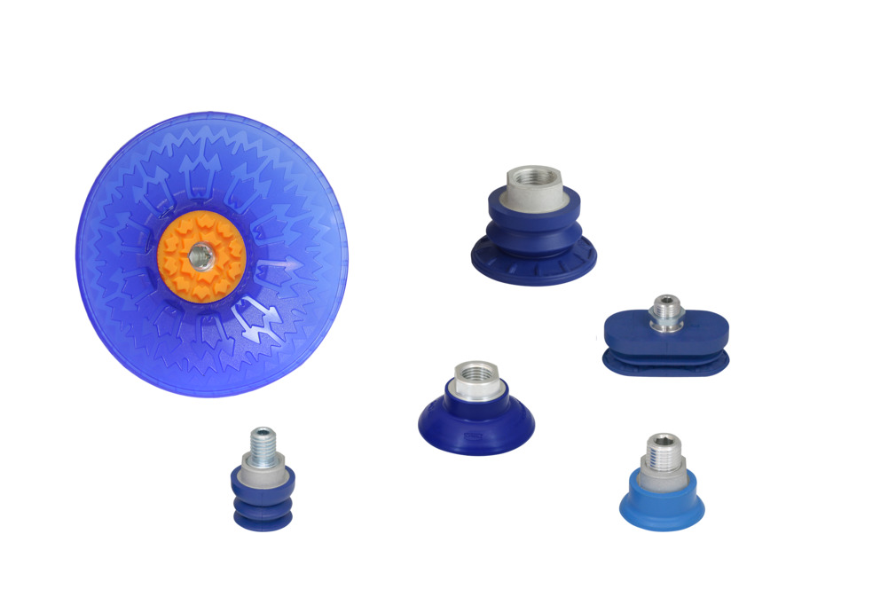 Suction Cups for Handling Sheet Metal