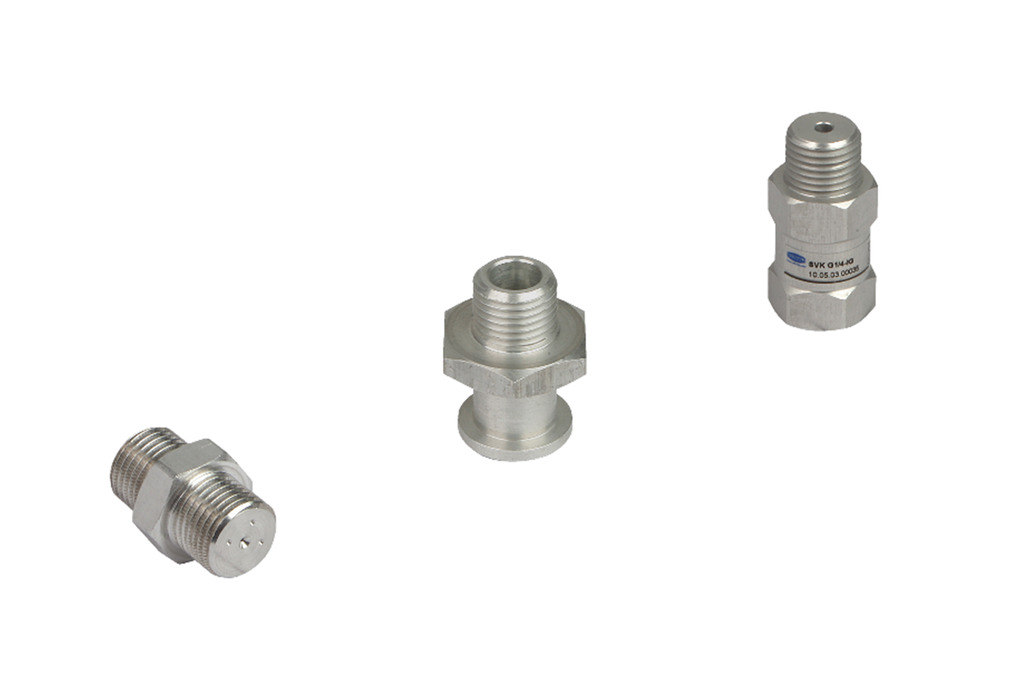 Check Valves and Flow Restrictors