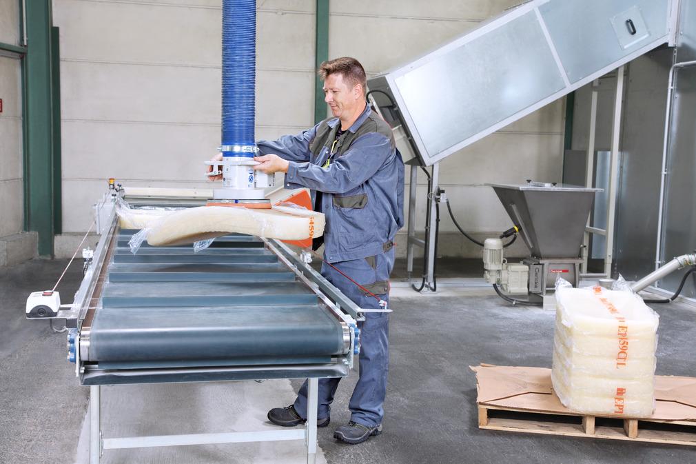 Vacuum tube lifter JumboSprint