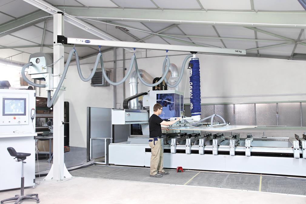 立柱悬臂轨道系统