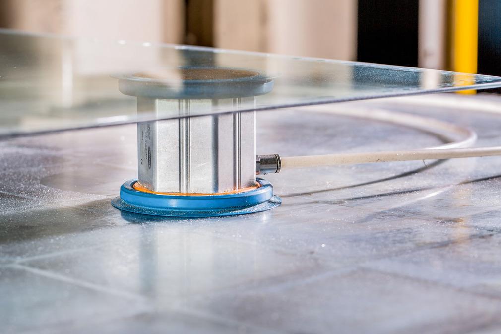 用于加工玻璃的平台面系统